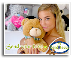 Send your love with a Teddy