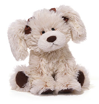 Biffy - a cute plush puppy
