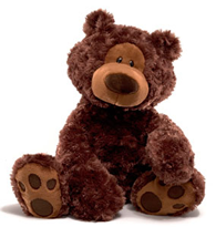 Philbin 18 in. brown Teddy Bear